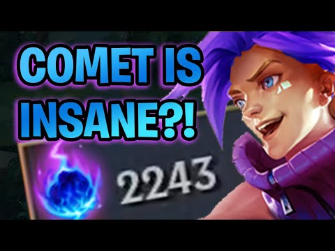 ARCANE COMET EZREAL Does CRAZY DAMAGE (best Rune?) | League Of Legends Gameplay