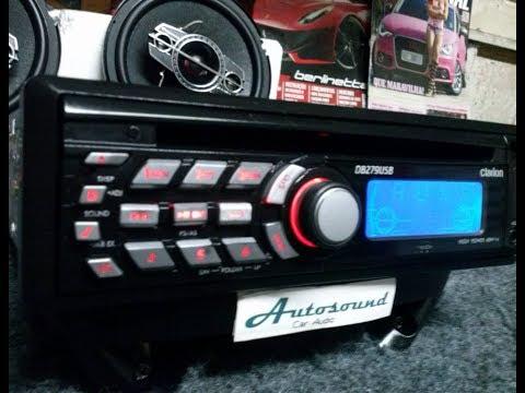 Clarion DB 279 USB Volkswagem Tech CD MP3 Radio Original