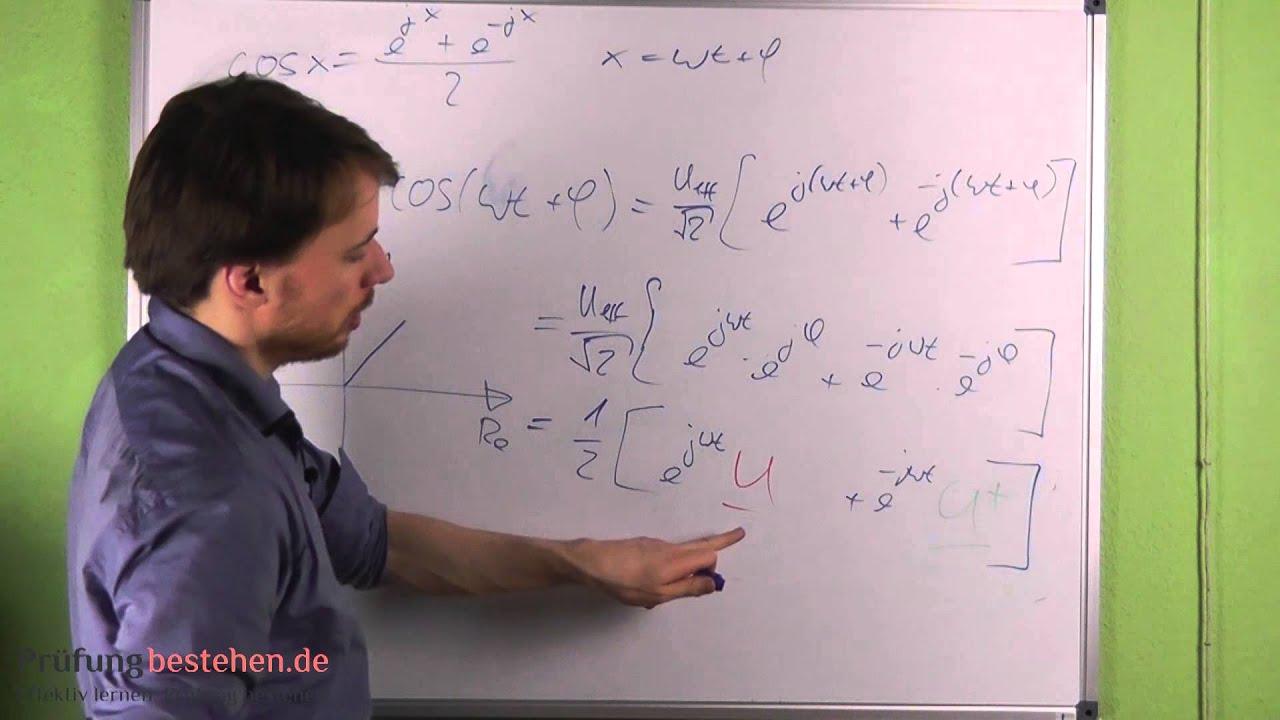 Elektrotechnik Wechselstrom - Anwendungen komplexer Zahlen in der ...