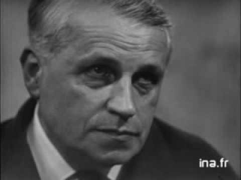 Georges Bataille : La littérature et le mal (INA, 1958)