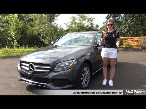 My Wife Reviews Her 2016 Mercedes Benz C300 4MATIC