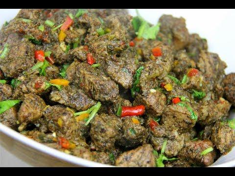 geera pork spicy cumin pork caribbeanpot com youtube