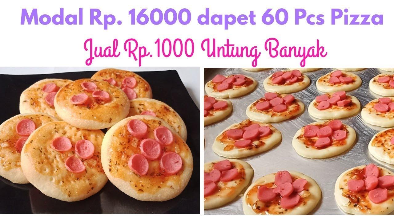 Ide Jualan 1000 An Resep Pizza Mini Youtube