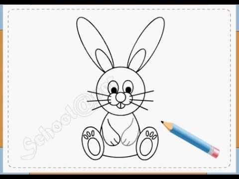 BÉ HỌA SĨ - Thực hành tập vẽ 52: Vẽ con thỏ