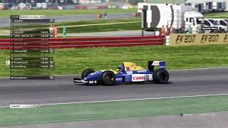 F1 2017 Classic Car Racing League Race Round 2   Williams FW14B at Britain