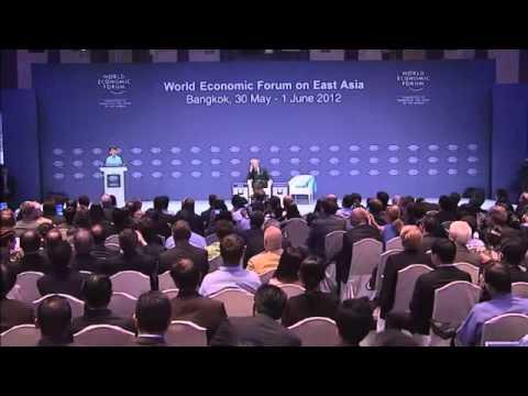 Aung San Suu Kyi   World Economic Form East Asia Summit June 1, 2012
