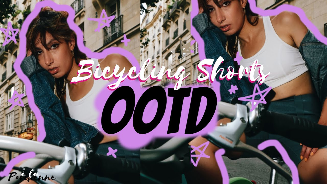 "[VIDEO] - ""Bicycling Shorts"" OOTD??‍♀️ // Autumn Winter 2019-2020 Lookbook 8"