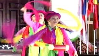 DRUM DANCE Vietnamese Folk Dance - Embassy of Vietnam - ASEAN NIGHT Abu Dhabi UAE [HD]