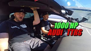 1,000HP AUDI TTRS | BRUTAL POWER!!  | A DAY AT IROZ MOTORSPORTS
