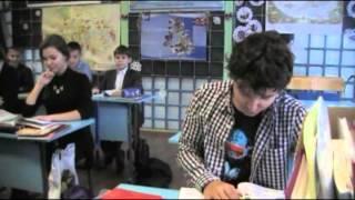 Мои ученики на уроке английского языка в Средней школе № 78 г. Ульяновска
