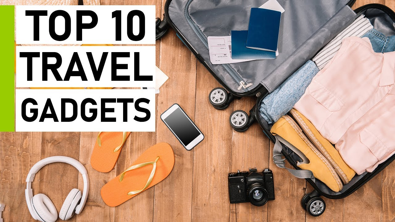 Top 10 Coolest Travel Gadgets Invention | CREATIVE IDEAS FOR YOUR GADGET