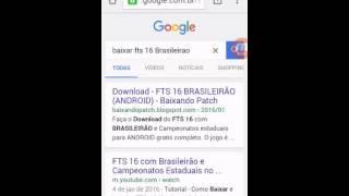 COMO BAIXAR E ISTALAR O JOGO FTS 16 BRASILEIRÃO