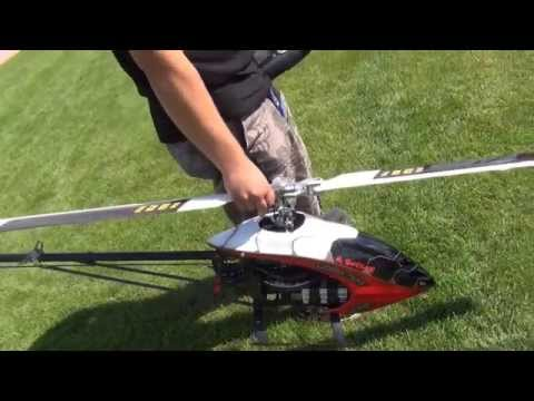 Kulmer air Show 2014-Huge Rc Mikado Heli Logo700 Xxtreme-Pilots is Markus Berger-great 3D Flight