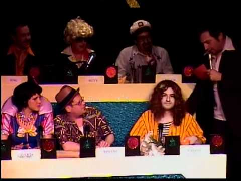 The original cast of MATCH GAME Belltown.