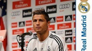 "Cristiano Ronaldo: ""I"