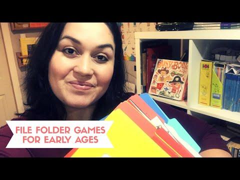 File Folder Games // Preschool And Elementary