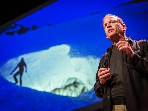 Eddy Cartaya: My glacier cave discoveries