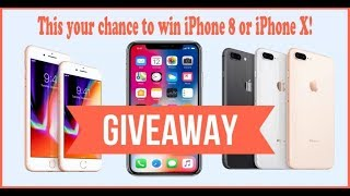 Iphone Giveaway (Today) [Live Stream Giveaway] | Iphone X | Iphone 8 Giveaway! Are you lucky?