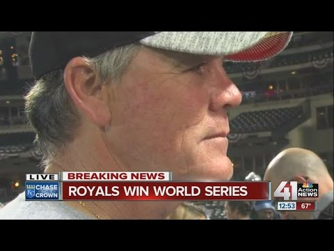 Royals manager Ned Yost talks about World Series win