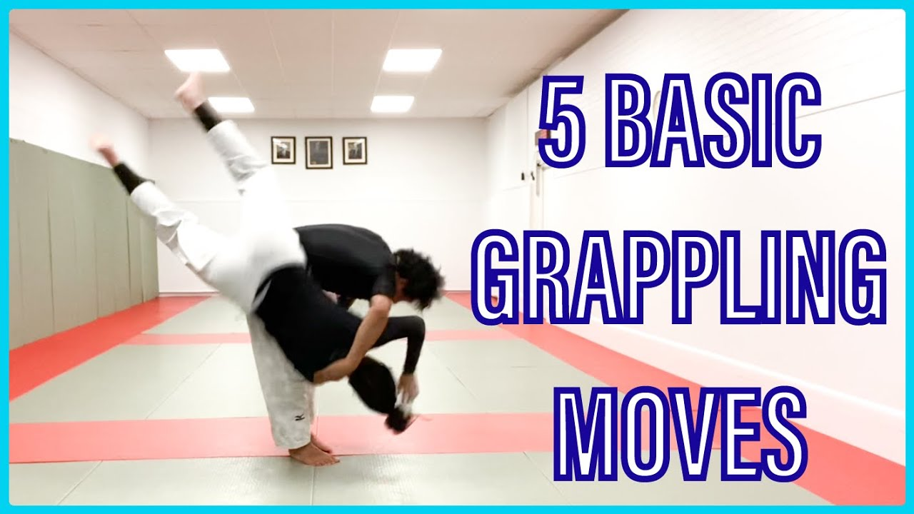 5 Basic Grappling Techniques Youtube