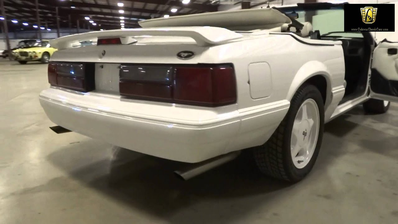 1993 Ford Lx Limited Edition Mustang Stock 635 Located