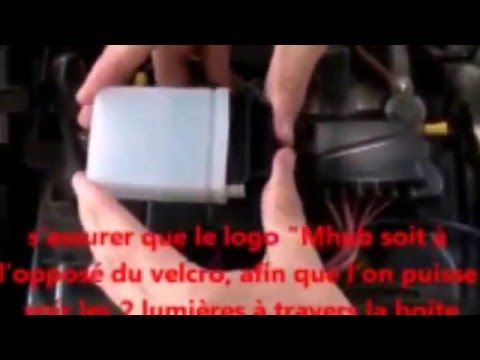 installation du bo tier auto sur la batterie de votre voiture amaguiz youtube. Black Bedroom Furniture Sets. Home Design Ideas