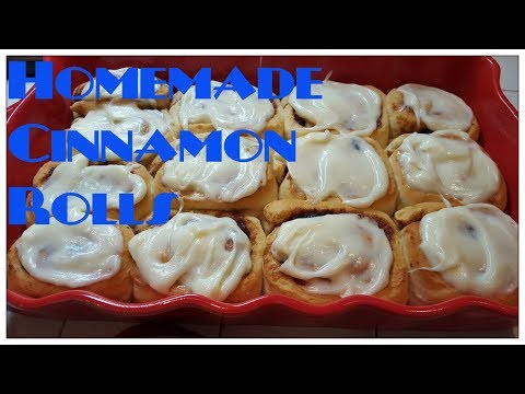 Tricia's Creations: Homemade Cinnamon Rolls