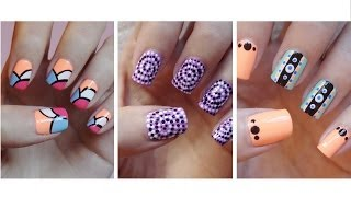 Easy Nail Art For Beginners!!! #9