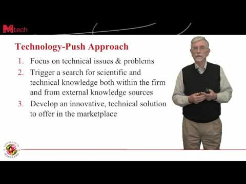 Which Innovation Strategy: Technology-Push or Market-Pull? (8:02)