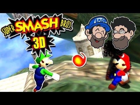 THEY HACKED SM64 INTO SMASH BROS || Super Smash Bros. 3D