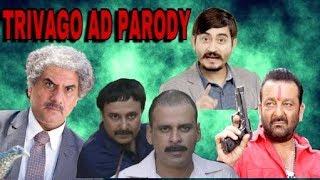 TRIVAGO AD PARODY | FT. SANJAY DUTT , BOMAN IRANI , TRIVAGO GUY  , GANGS OF WASSEYPUR |