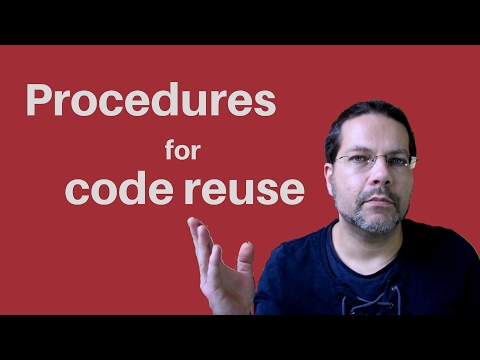 Better VBA 8 - Procedures for code reuse