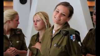 Israeli army team-building (Israeli soldiers IDF girls female soldiers women soldiers israel)