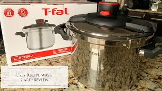 T- FAL Clipso Pressure Cooker Uses Recipes Wash Care | Review | How To cook dry pulse vegetables |