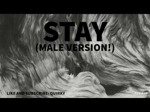 Stay - Zedd, Alessia Cara (MALE VERSION)