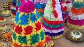 Bathukamma festival  in Raorukula Telangana