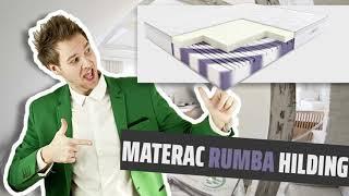 Materac RUMBA Hilding piankowy, termoelastyczny, visco, memory 80,90x200, 140x200, 160x200, 180x200