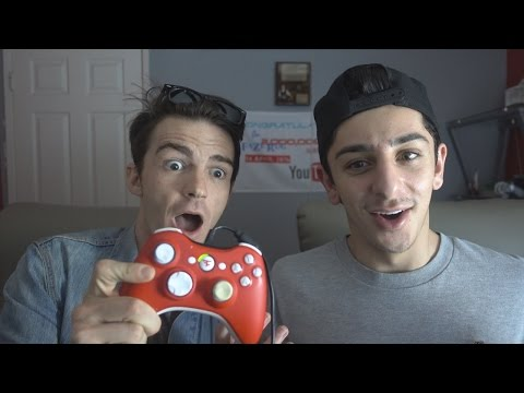 TEACHING DRAKE BELL HOW TO TRICKSHOT!!