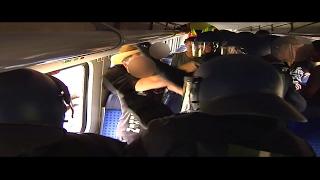 Die Beweissicherungs- und Festnahmehundertschaft der Bundespolizei