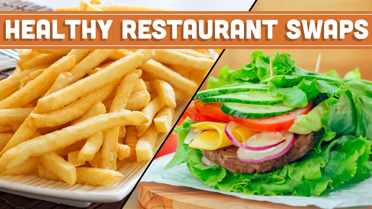 Healthy Restaurant Swaps! How To Eat Healthy When Eating Out  Mind Over  Munch