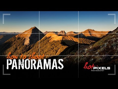Landscape Photography tips | how to shoot a Panoramic Stitch