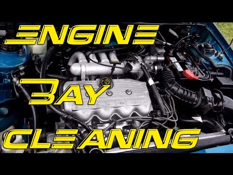 DIY Engine Bay Cleaning | How to clean your engine bay