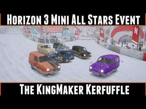 Forza Horizon 3 Mini All Stars Event The KingMaker Kerfuffle