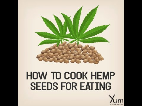 How to Cook Hemp Seeds For Eating
