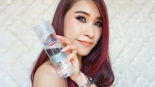 รีวิว eucerin acne & makeup cleansing water สูตรใหม่