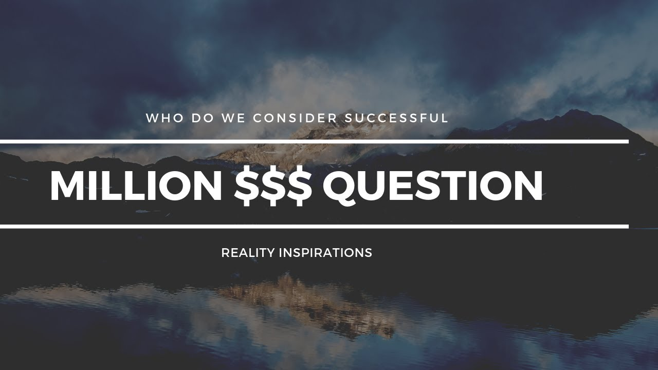 Million Dollar Question I DEE