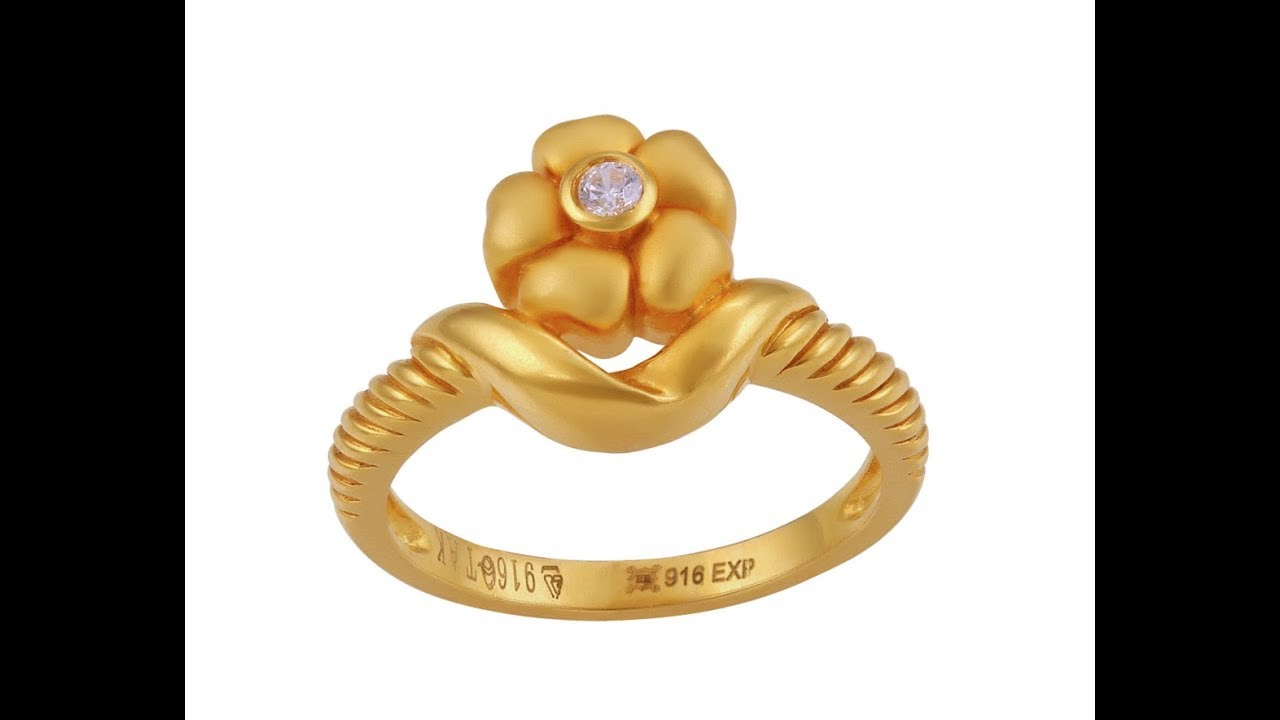 Latest Simple Gold Daily Wear Finger Ring Designs - YouTube