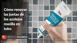 Como Renovar Juntas De Azulejos Con Masilla En Tubo Beissier Bricopared Youtube