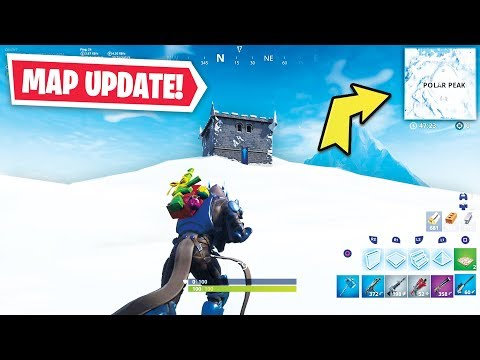 WHAT HAPPENED TO FORTNITE?! (Fortnite Season 7 Map Changes)