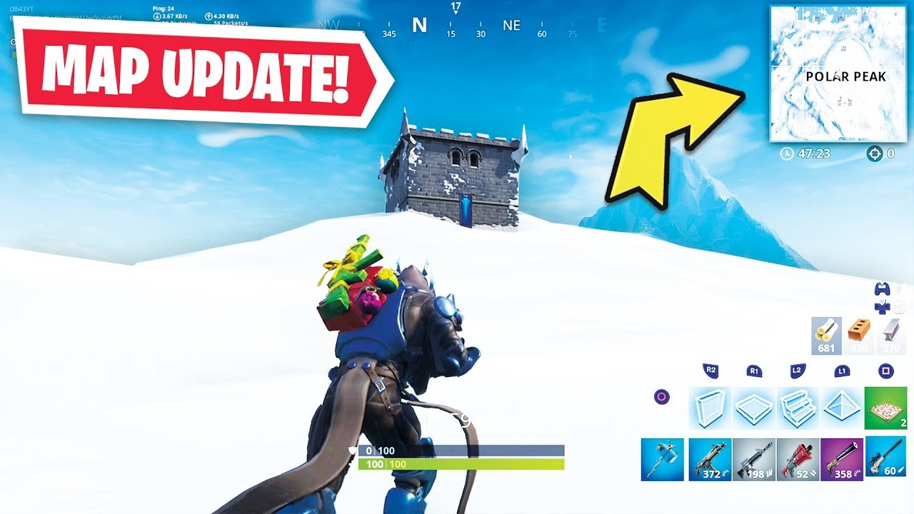 What Happened To Fortnite Fortnite Season 7 Map Changes Youtube